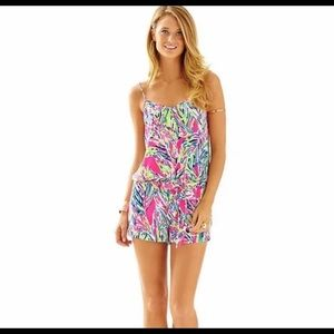 Lilly Pulitzer Deanna Romper. Small